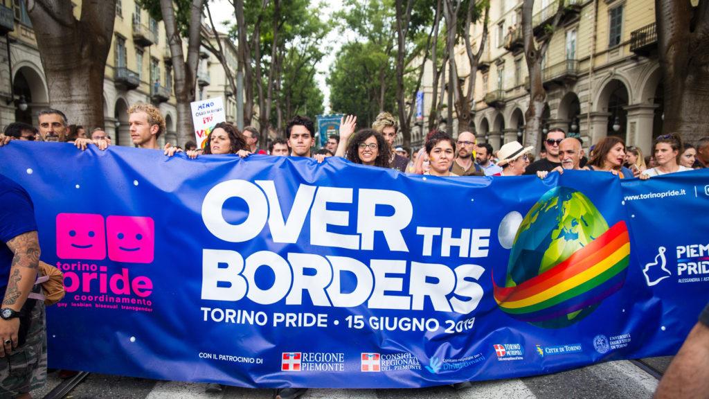 Immagini di repertorio Torino Pride 2019 Design 2