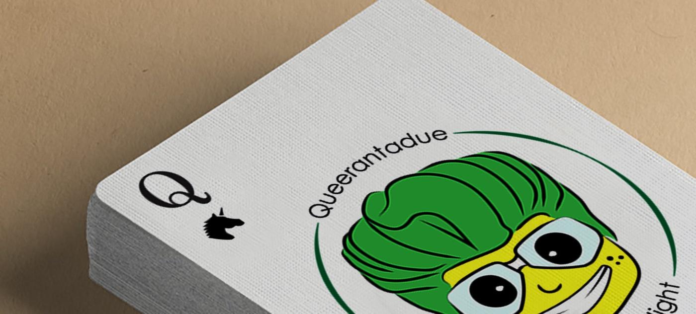 Brand identity per la nerd night Queerantadue