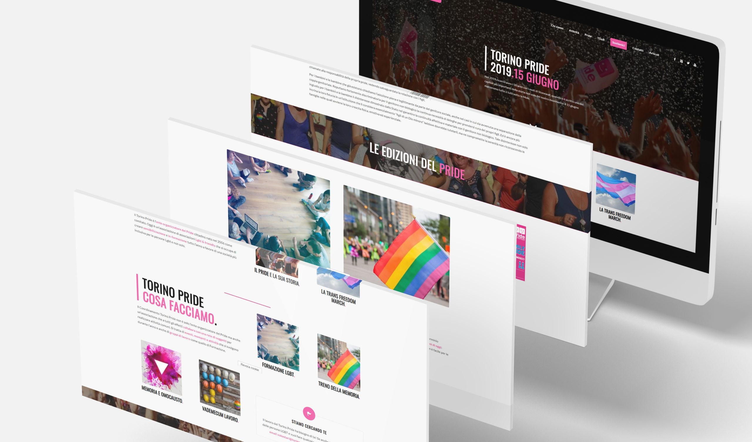 Un nuovo sito web per il Torino Pride