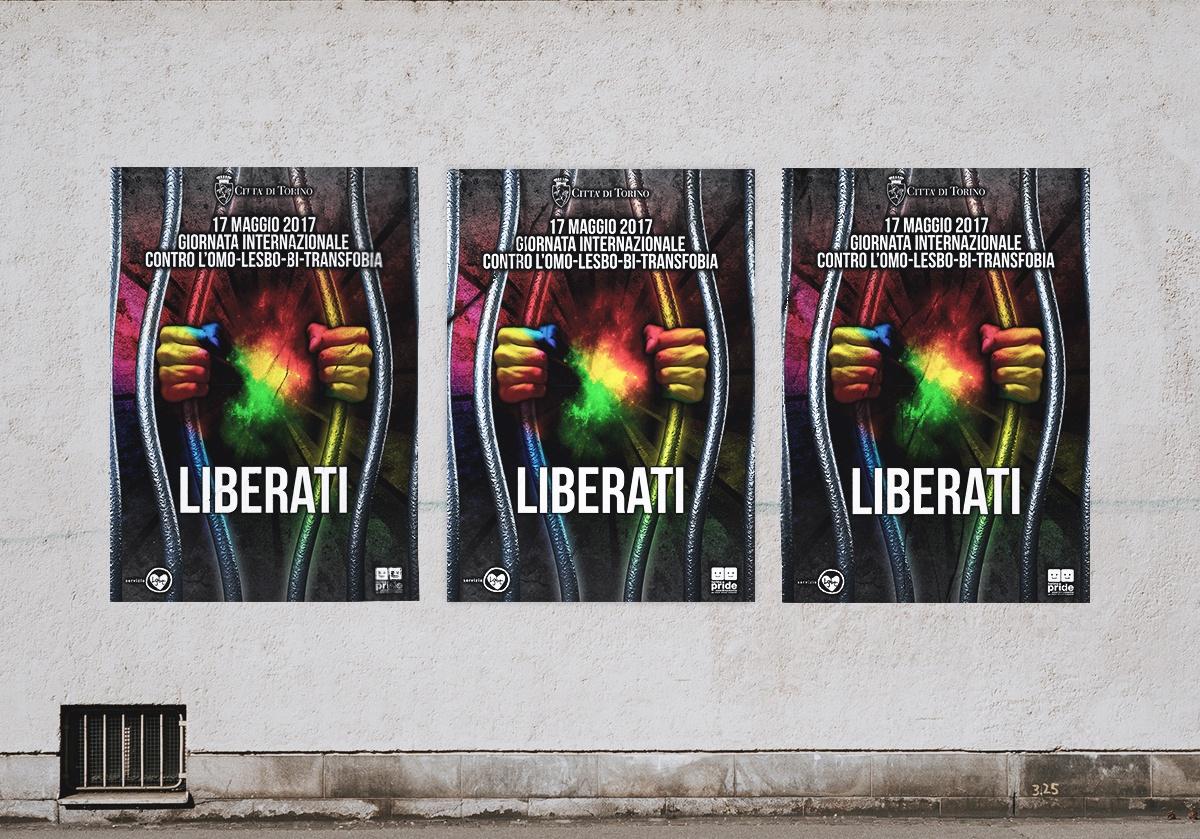 Campagna poster contro l'omo-transfobia