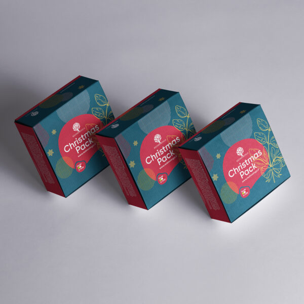 Mockup portfolio Scatola Red Moringa Natale 2020