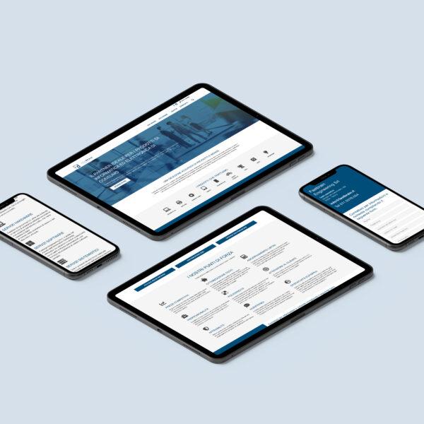 Mockup screens website Fastbrain