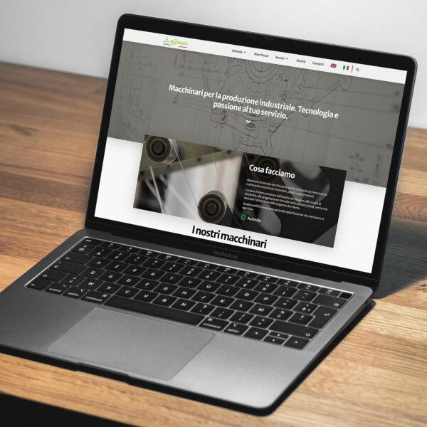 UI Design Website Offmar srl Luca Minici Graphic Design