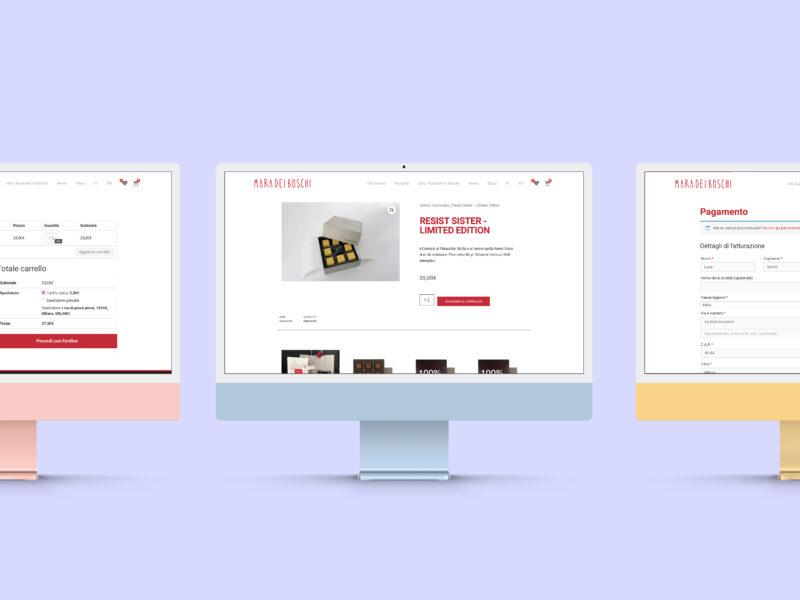 Ecommerce Web UX UI Design